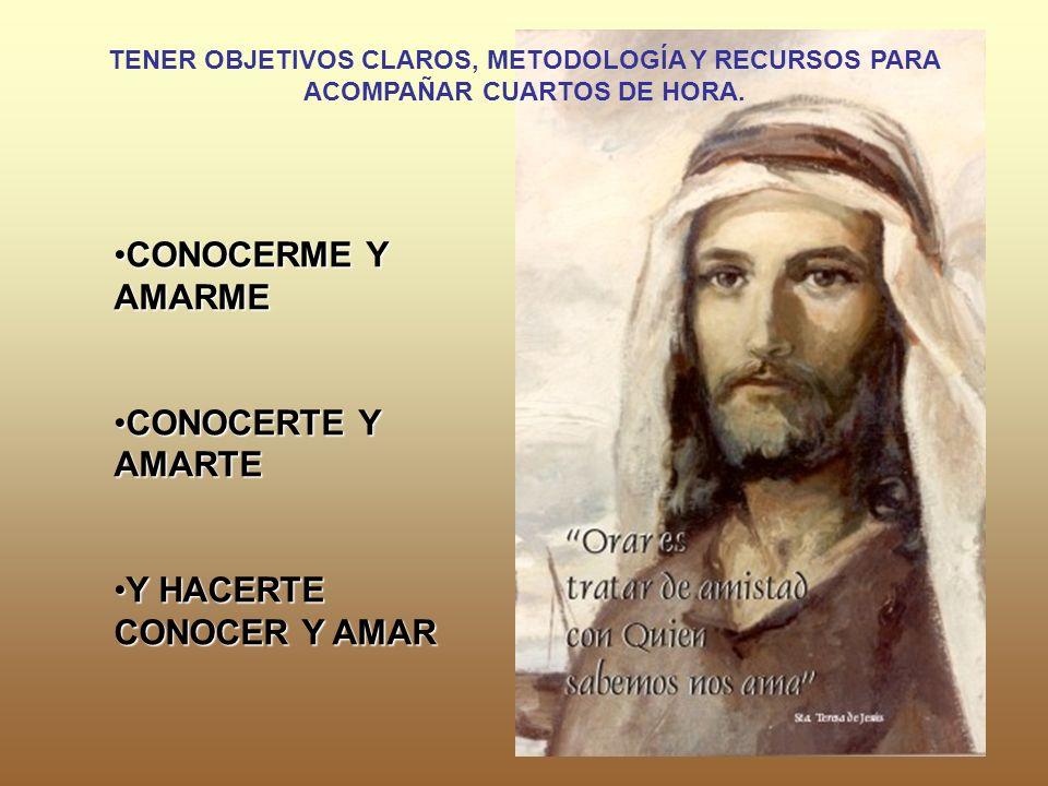 CONOCERME Y AMARMECONOCERME Y AMARME CONOCERTE Y AMARTECONOCERTE Y AMARTE Y HACERTE CONOCER Y AMARY HACERTE CONOCER Y AMAR TENER OBJETIVOS CLAROS, MET