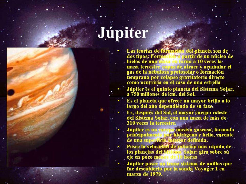 Los Planetas Jovianos A Júpiter, Saturno, Urano, y Neptuno se les conoce como los planetas Jovianos (relativos a Júpiter), puesto que son gigantescos