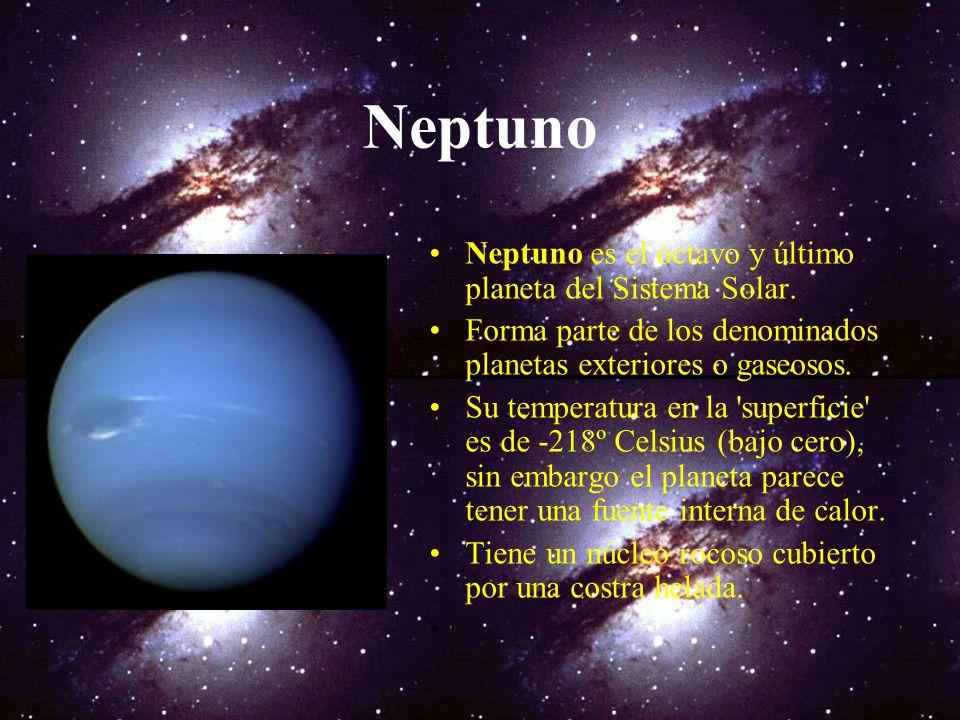 Satélites de Urano Principales satélites de Urano: Miranda: -Diámetro: 470 km., Radio orbital: 129.000 km., Periodo orbital: 1,4 días. Ariel: -Diámetr