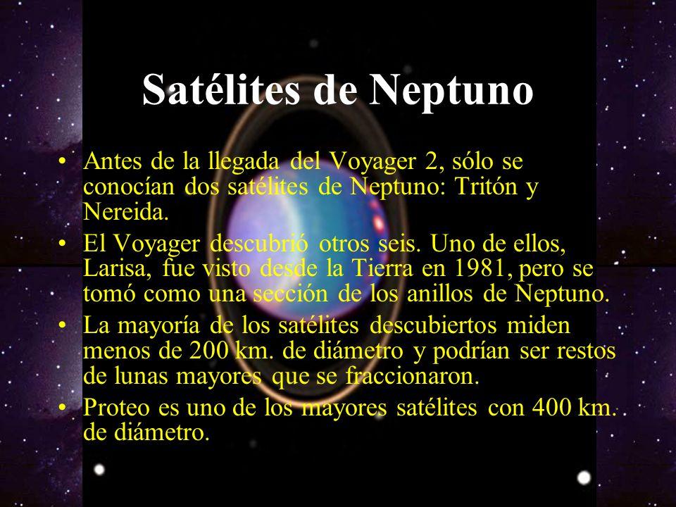 Neptuno Neptuno es el octavo y último planeta del Sistema Solar. Forma parte de los denominados planetas exteriores o gaseosos. Su temperatura en la '