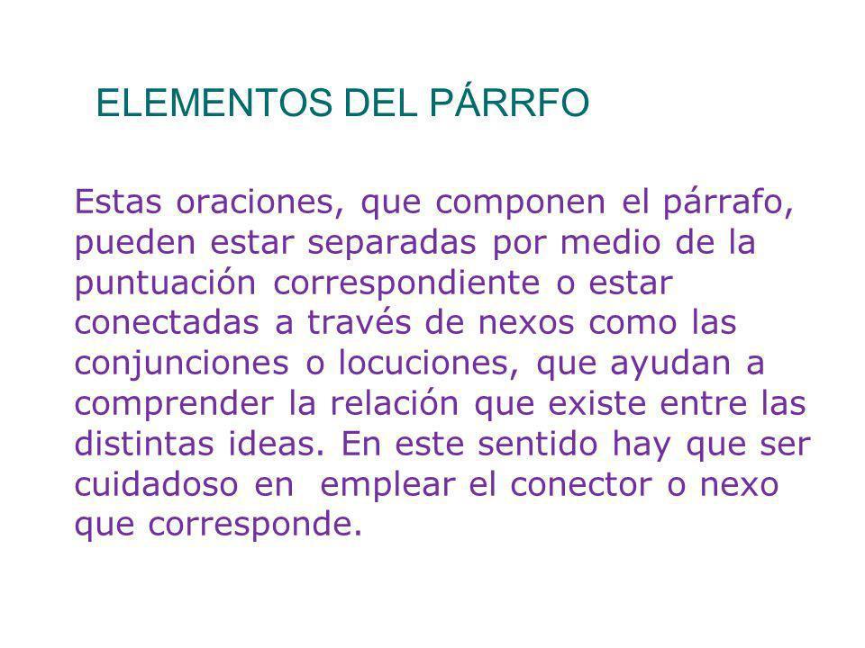 Párrafo introductorio a) Introducción (párrafo introductorio).