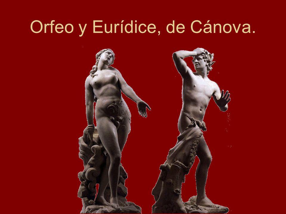 Orfeo y Eurídice, de Cánova.
