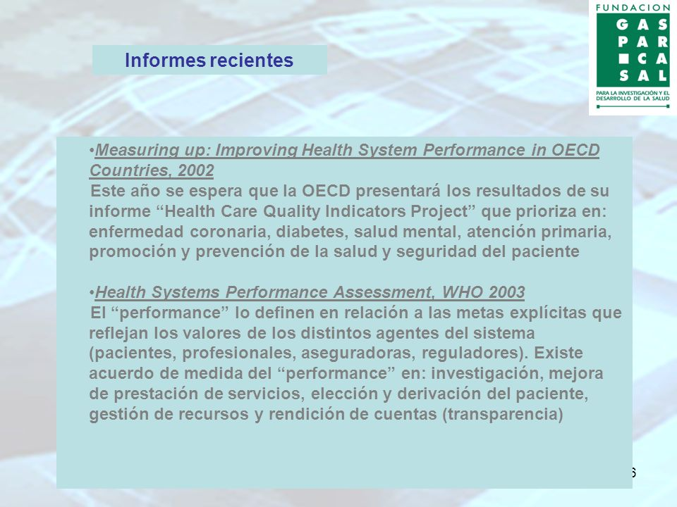 7 Understanding Health System Performance of Leading Countries, The Conference Board of Canada, 2004.