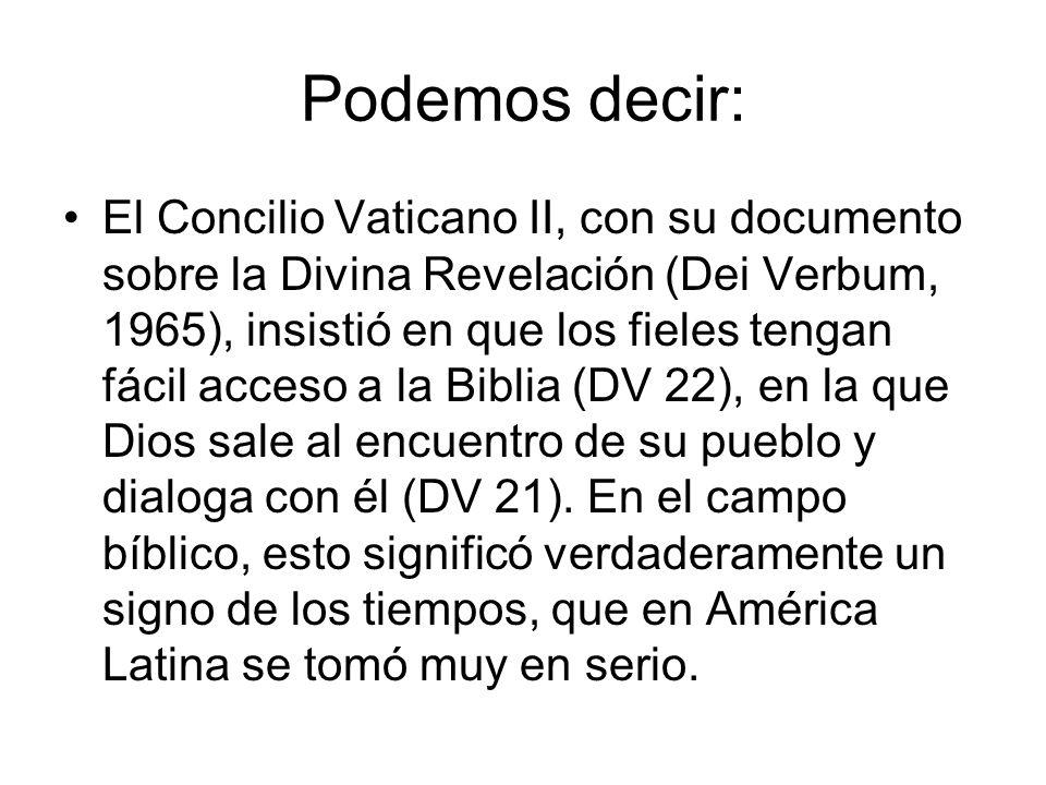 En América Latina desde mediados del siglo pasado, comienza a sentirse una gran preocupación por el tema del papel de la Iglesia ante la situación de pobreza, opresión y la violación de los derechos humanos.