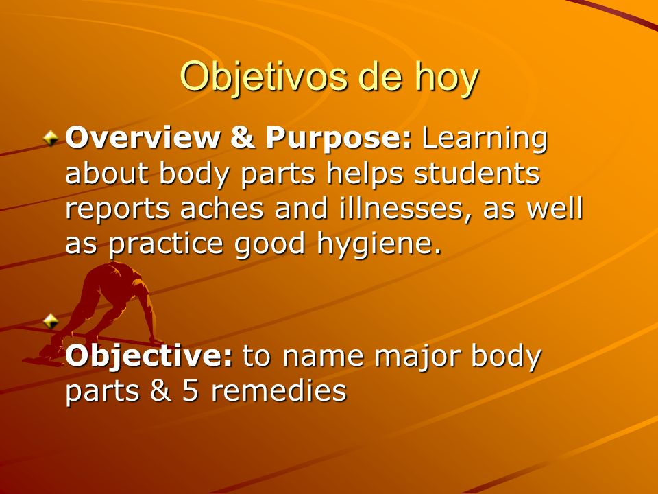 Objetivos parte 2 Talk about how you feel Give advice Use the verbs estar, sentirse, and tener Use negative informal commands Use direct object and reflexive pronouns with informal commands