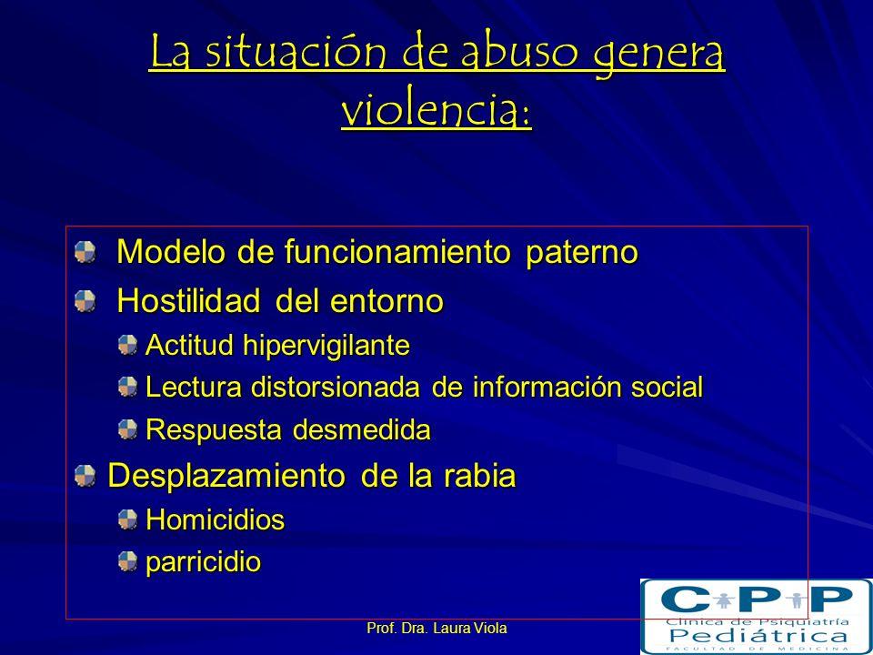 I. Trastornos Emocionales y de conducta Conductas agresivas y antisociales