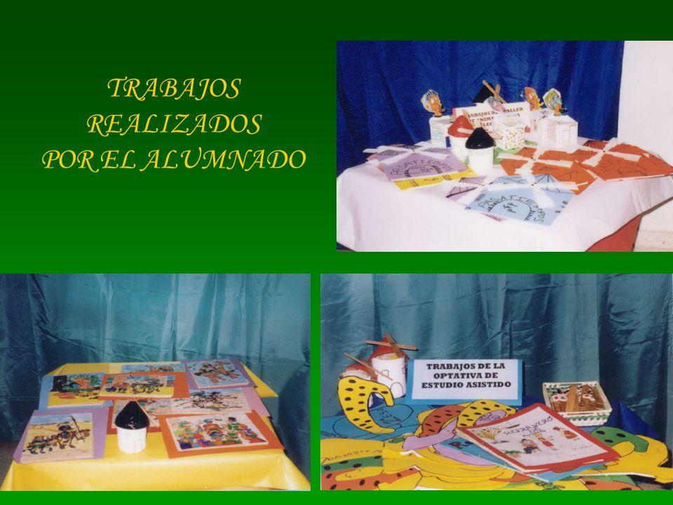 TRABAJOS REALIZADOS POR EL ALUMNADO
