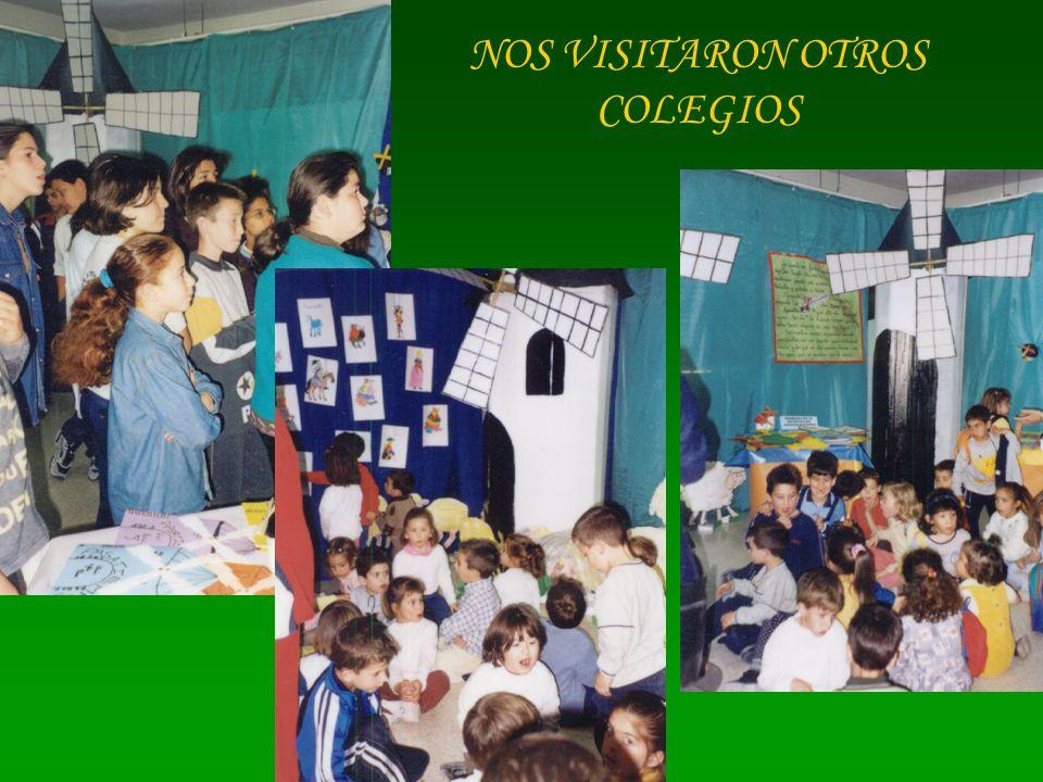 NOS VISITARON OTROS COLEGIOS