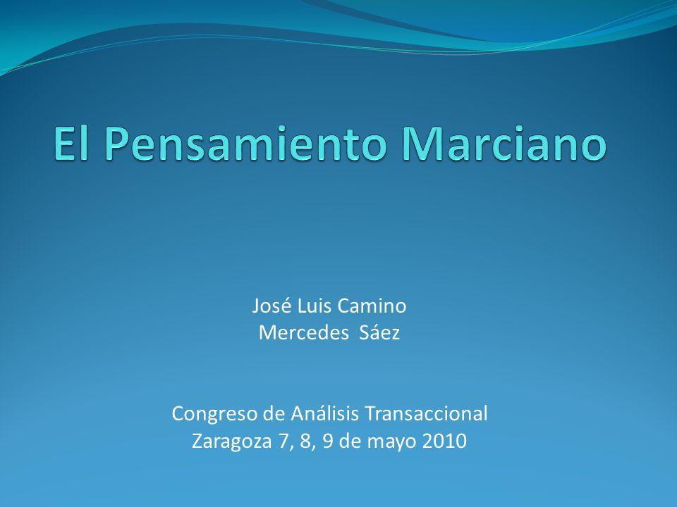 José Luis Camino Mercedes Sáez Congreso de Análisis Transaccional Zaragoza 7, 8, 9 de mayo 2010