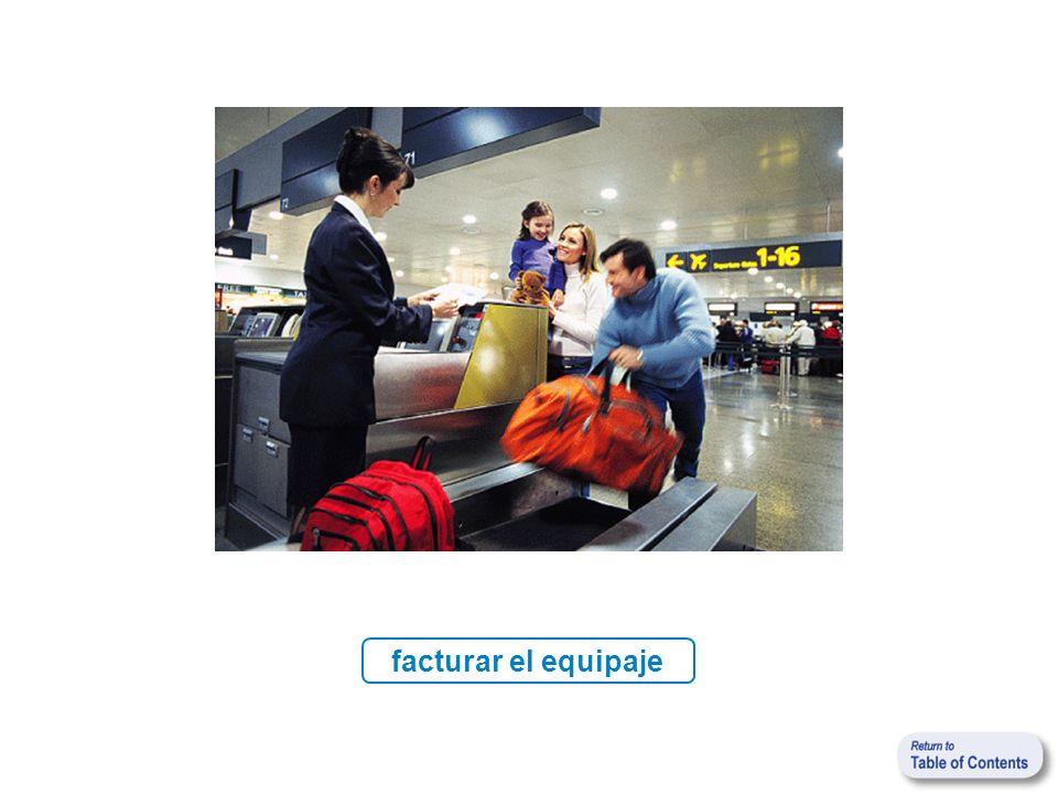 facturar el equipaje
