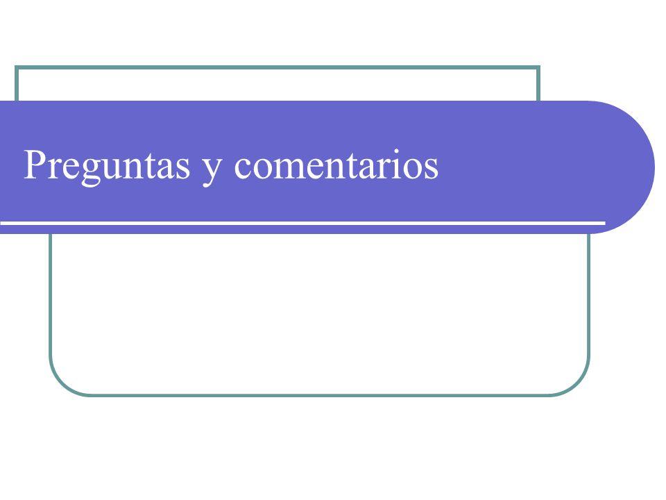 Preguntas y comentarios Complete las tareas siguientes para modificar el diseño de la presentación: 1.Aplique la plantilla de diseño Concurrencia a la