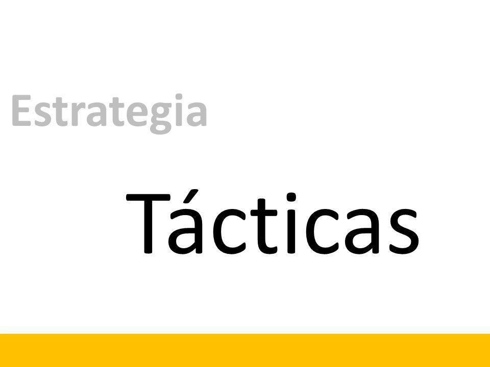 Tácticas Estrategia