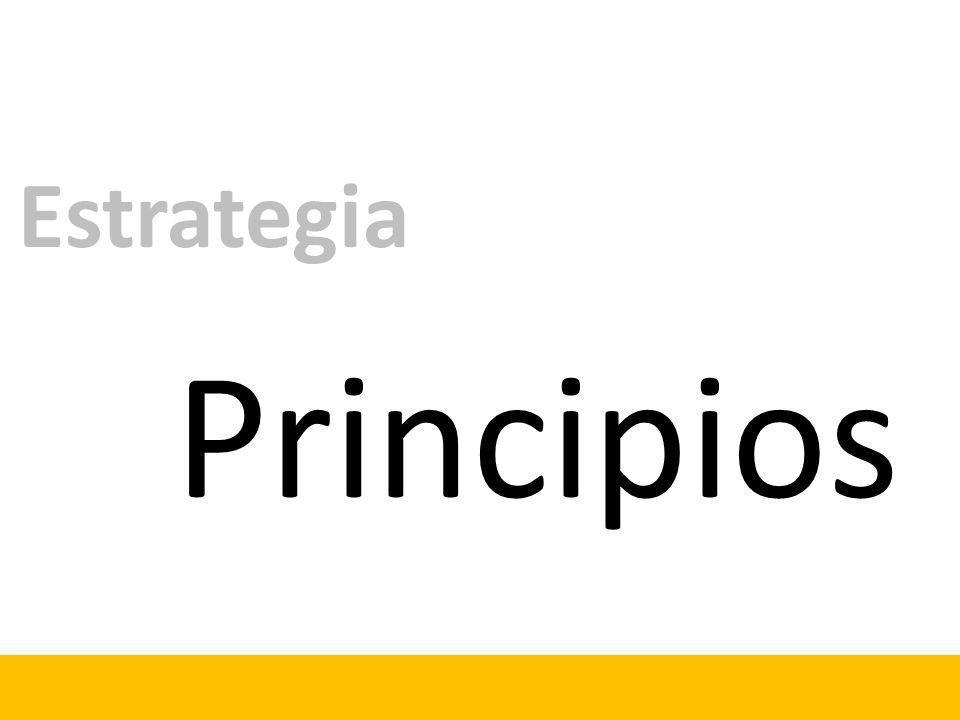 Principios Estrategia
