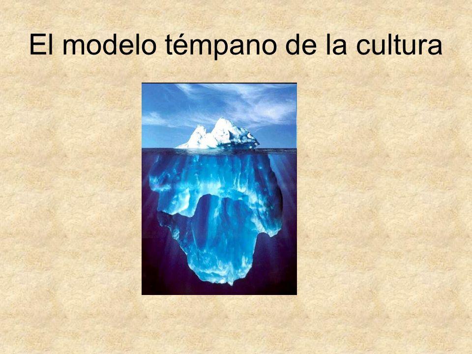 El modelo témpano de la cultura