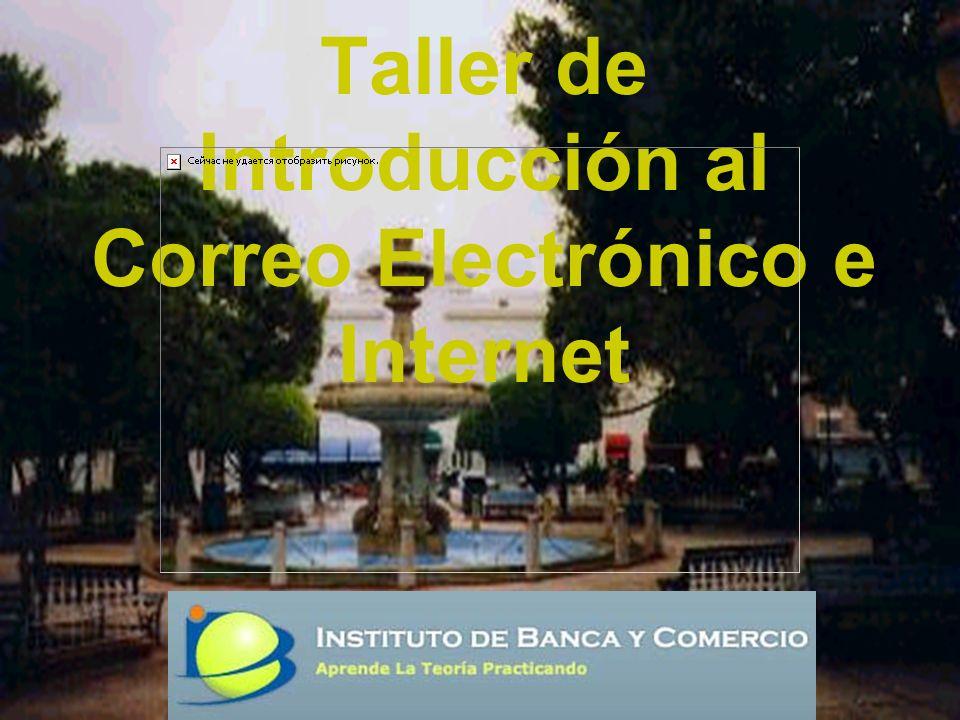 Taller de Introducción al Correo Electrónico e Internet