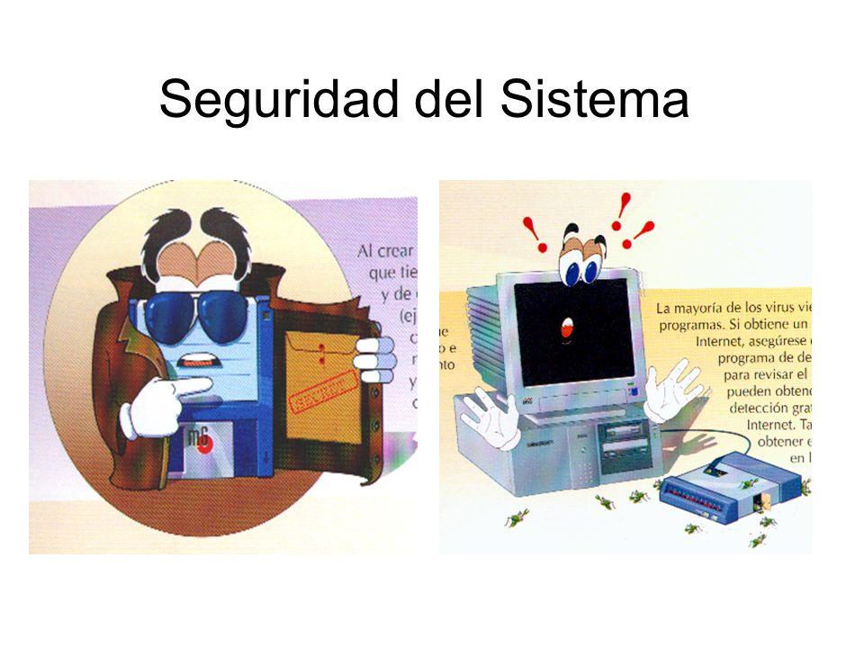 Seguridad del Sistema