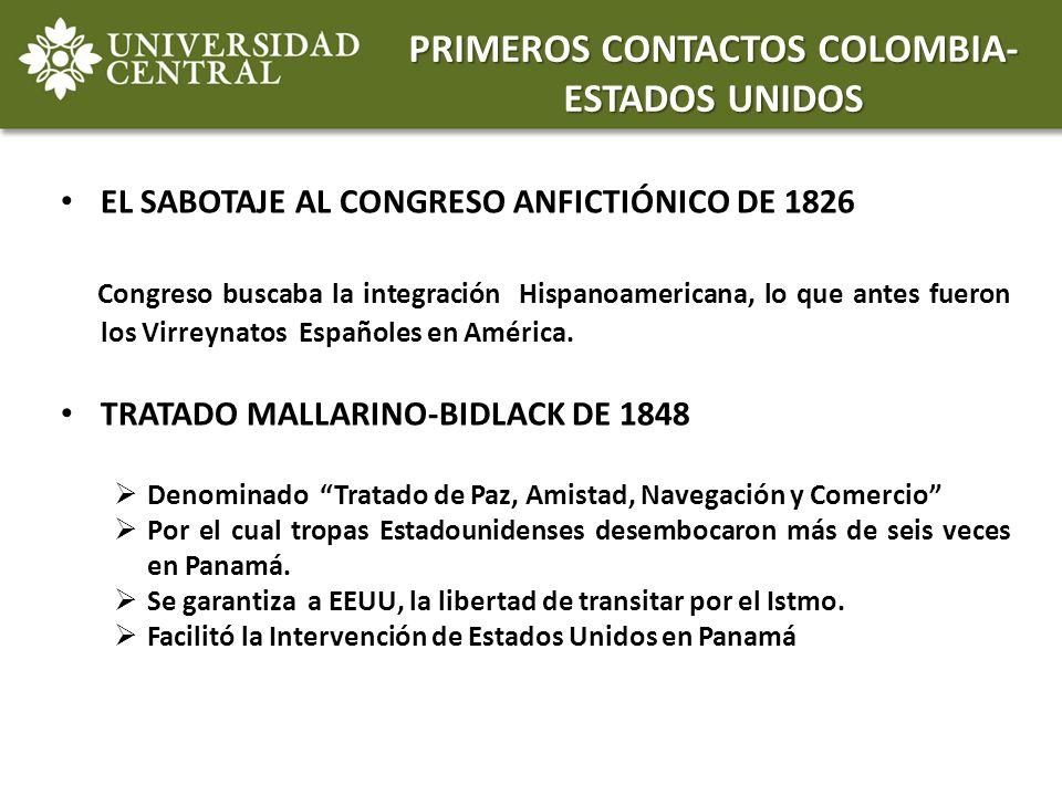 EL SABOTAJE AL CONGRESO ANFICTIÓNICO DE 1826 Congreso buscaba la integración Hispanoamericana, lo que antes fueron los Virreynatos Españoles en Améric