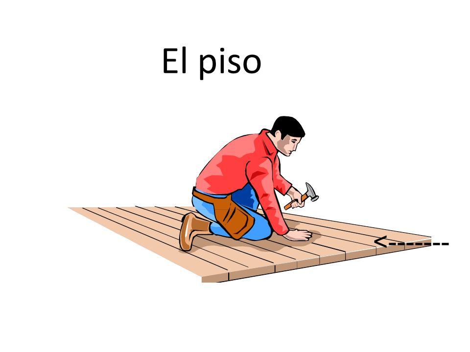 El piso <-------