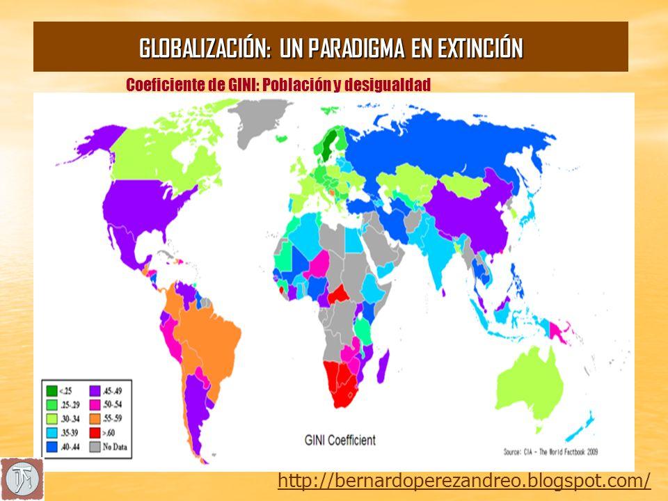 El planeta según el consumo por países http://bernardoperezandreo.blogspot.com/ GLOBALIZACIÓN: UN PARADIGMA EN EXTINCIÓN