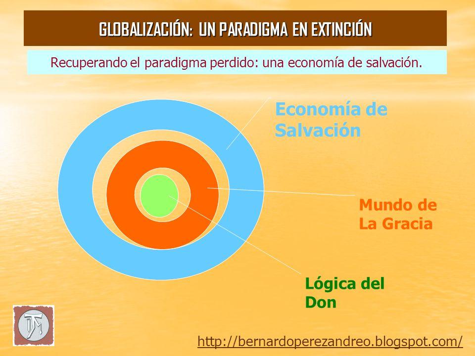 http://bernardoperezandreo.blogspot.com/ GLOBALIZACIÓN: UN PARADIGMA EN EXTINCIÓN