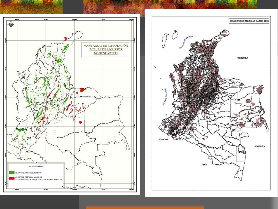 Las 45.124 solicitudes presentadas y en trámite superan los 35 millones de hectáreas.