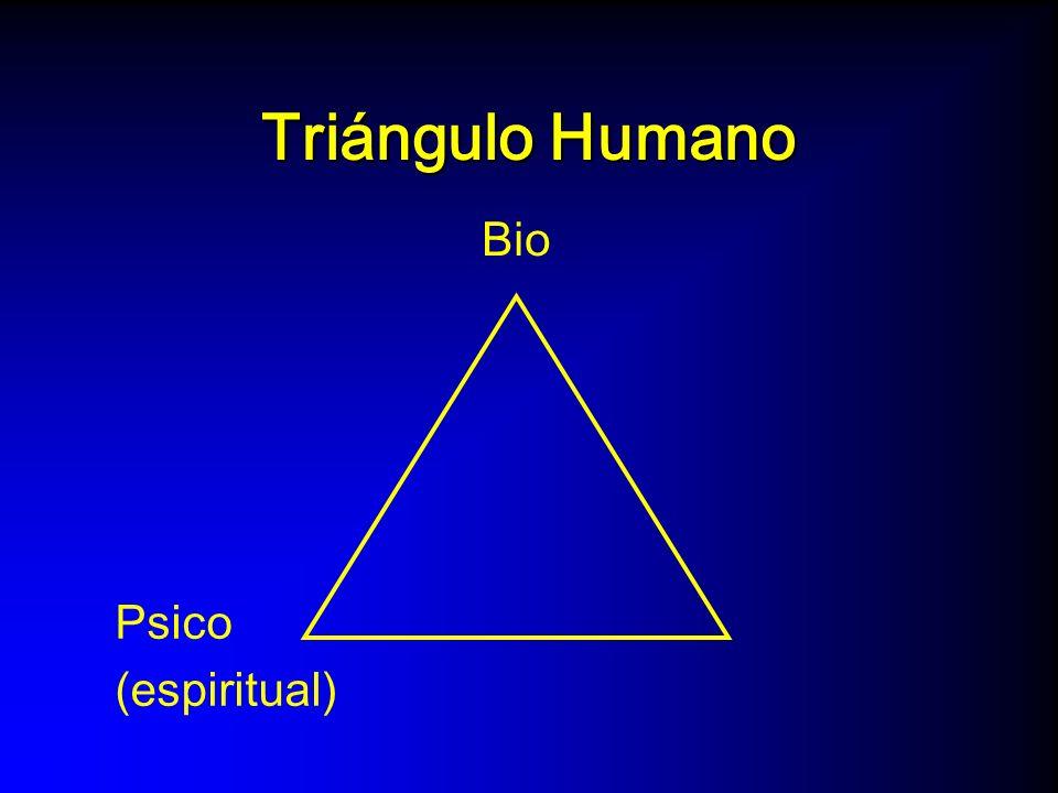 Triángulo Humano Bio SocialPsico (espiritual)