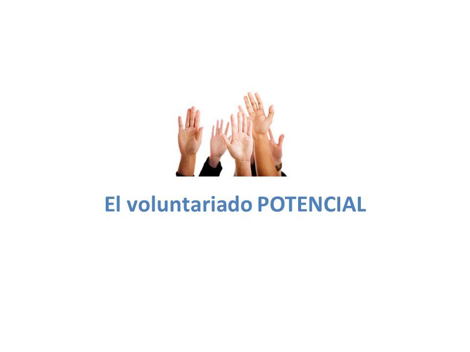 El voluntariado POTENCIAL