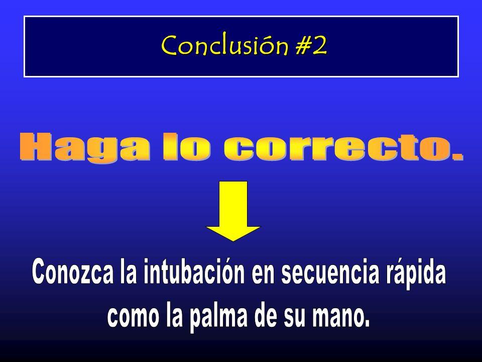 Conclusión #2 Conclusión #2