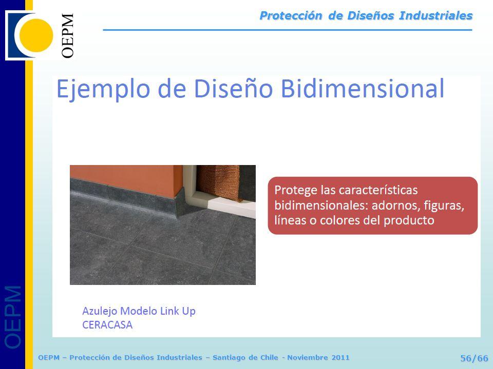 OEPM 56/66 Protección de Diseños Industriales OEPM – Protección de Diseños Industriales – Santiago de Chile - Noviembre 2011