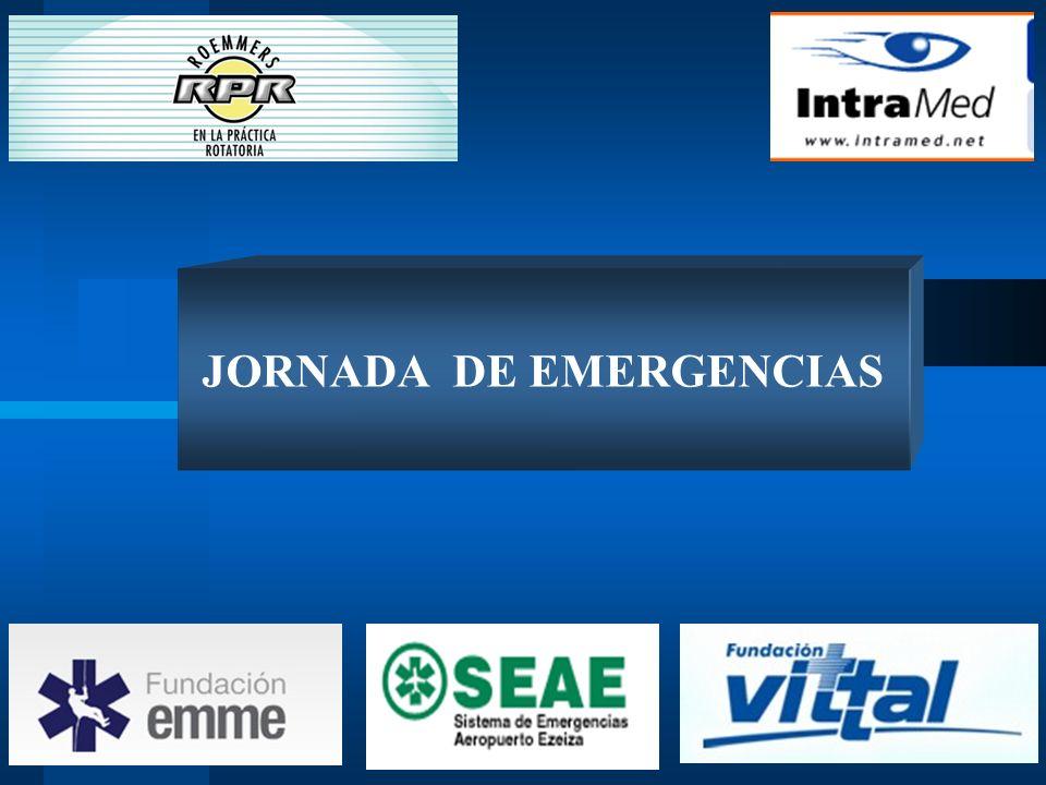 JORNADA DE EMERGENCIAS