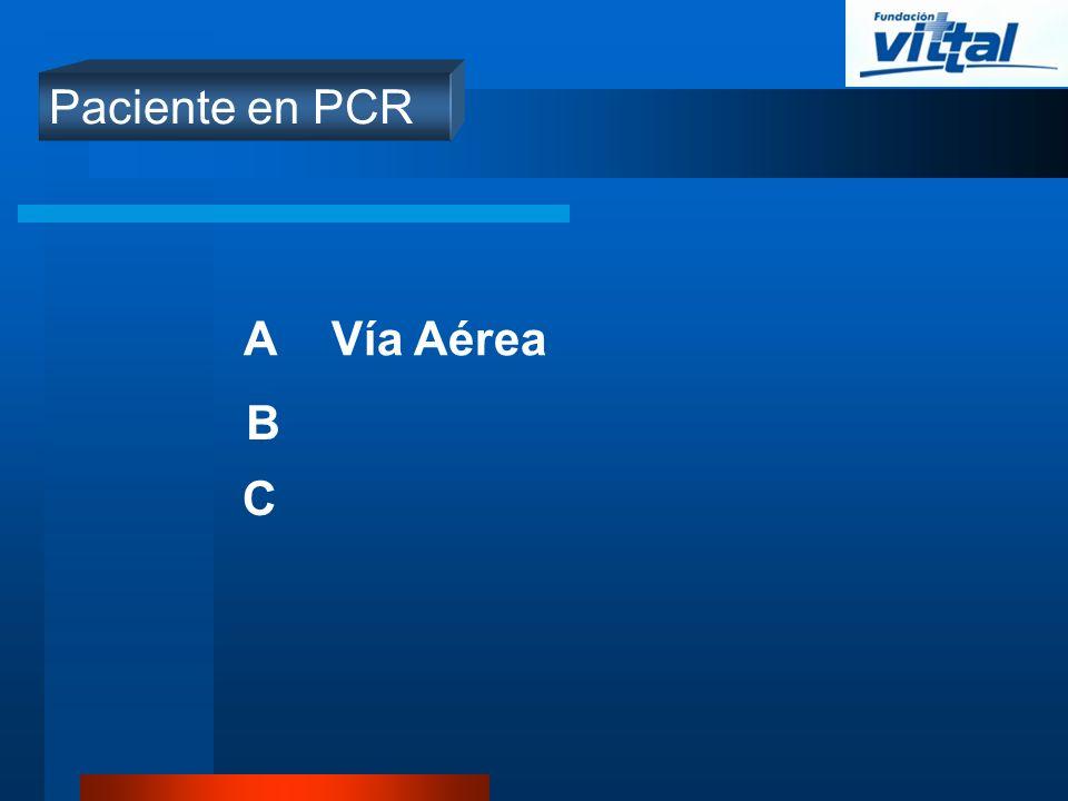 Paciente no en PCR A B C D E Vía Aérea Ventilación Circulación Déficit neurológico Examen Físico GeneralF G I H