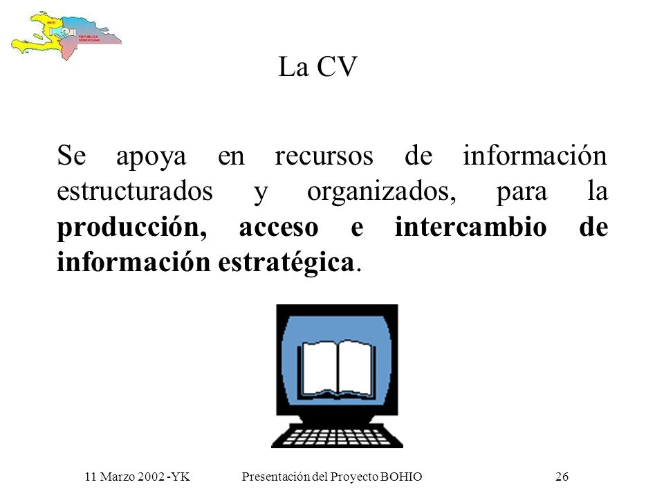11 Marzo 2002 -YKPresentación del Proyecto BOHIO25 Y que mas tarde… generan redes temáticas y grupos de trabajo Salud Desarrollo rural Derechos humano