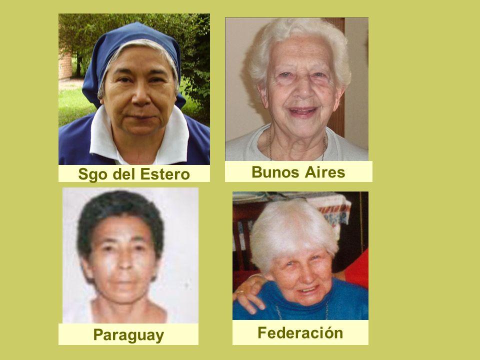 Sgo del Estero Bunos Aires Paraguay Federación