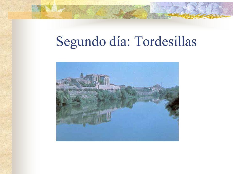 Segundo día: Tordesillas