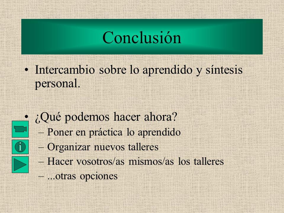 Tema 8: Método de resolución de conflictos; toma anticipada de decisiones Intercambio y debate sobre diferentes tipos de modelos educativos