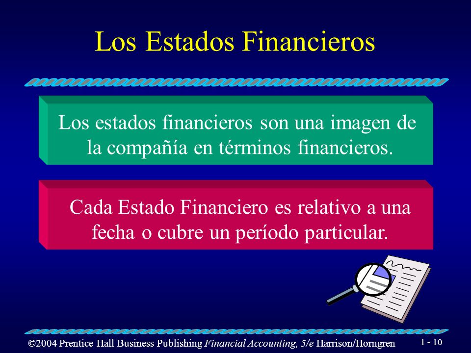 ©2004 Prentice Hall Business Publishing Financial Accounting, 5/e Harrison/Horngren 1 - 9 Componentes de Ganancias Retenidas Ingresos del Período – Ga