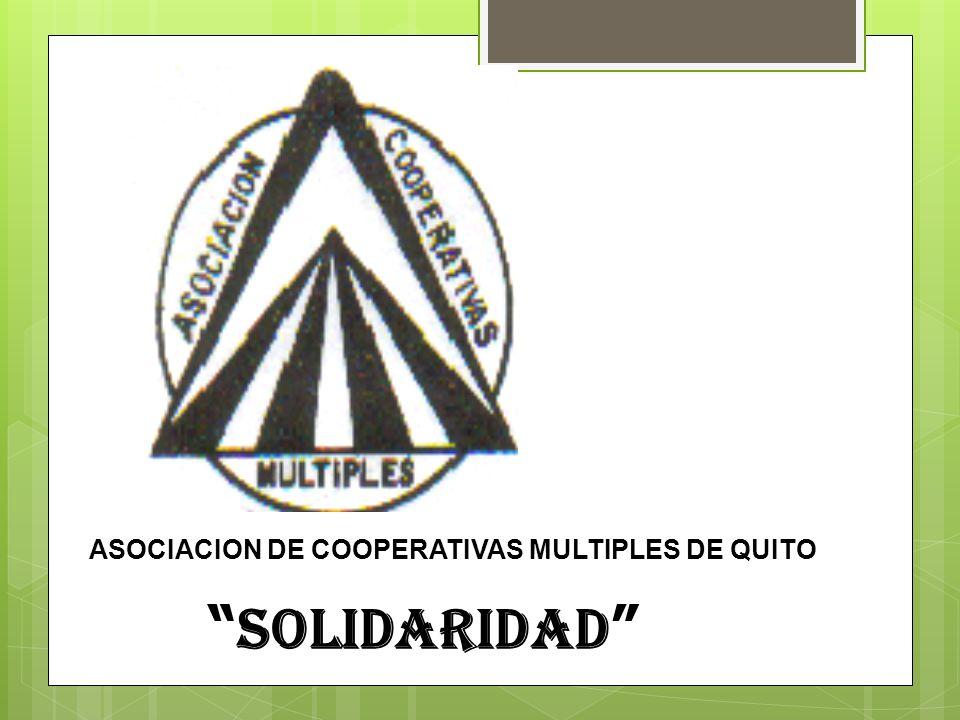 ASOCIACION DE COOPERATIVAS MULTIPLES DE QUITO SOLIDARIDAD