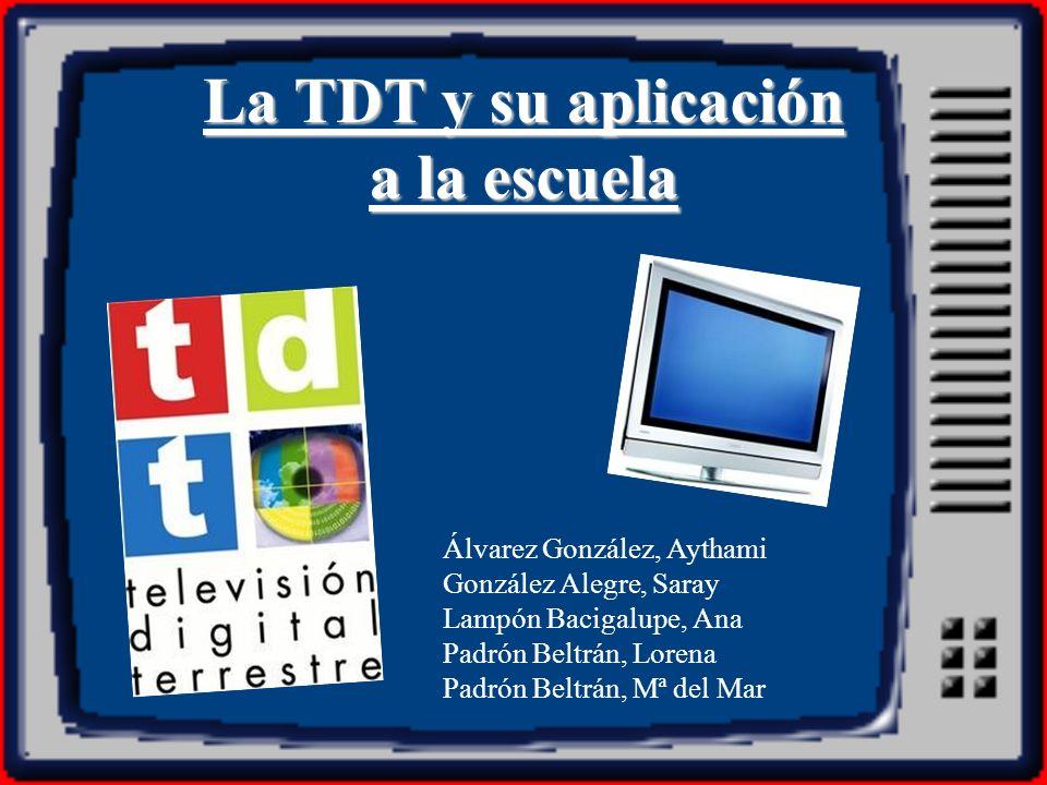 ¿Qué es la TDT.