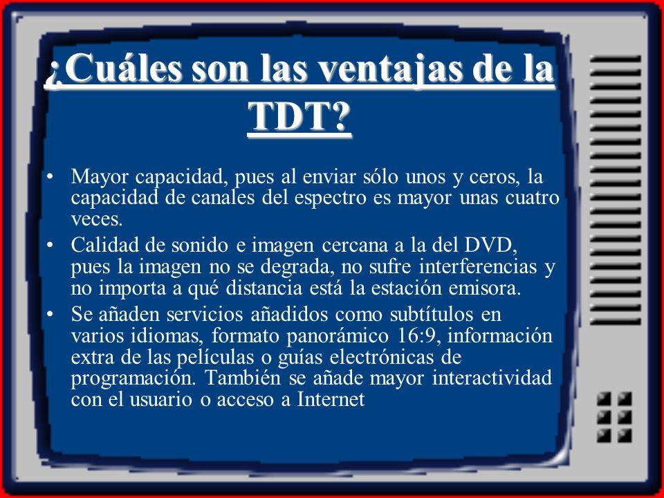 Influencias de la TDT La televisión como agente en el proceso de socialización.