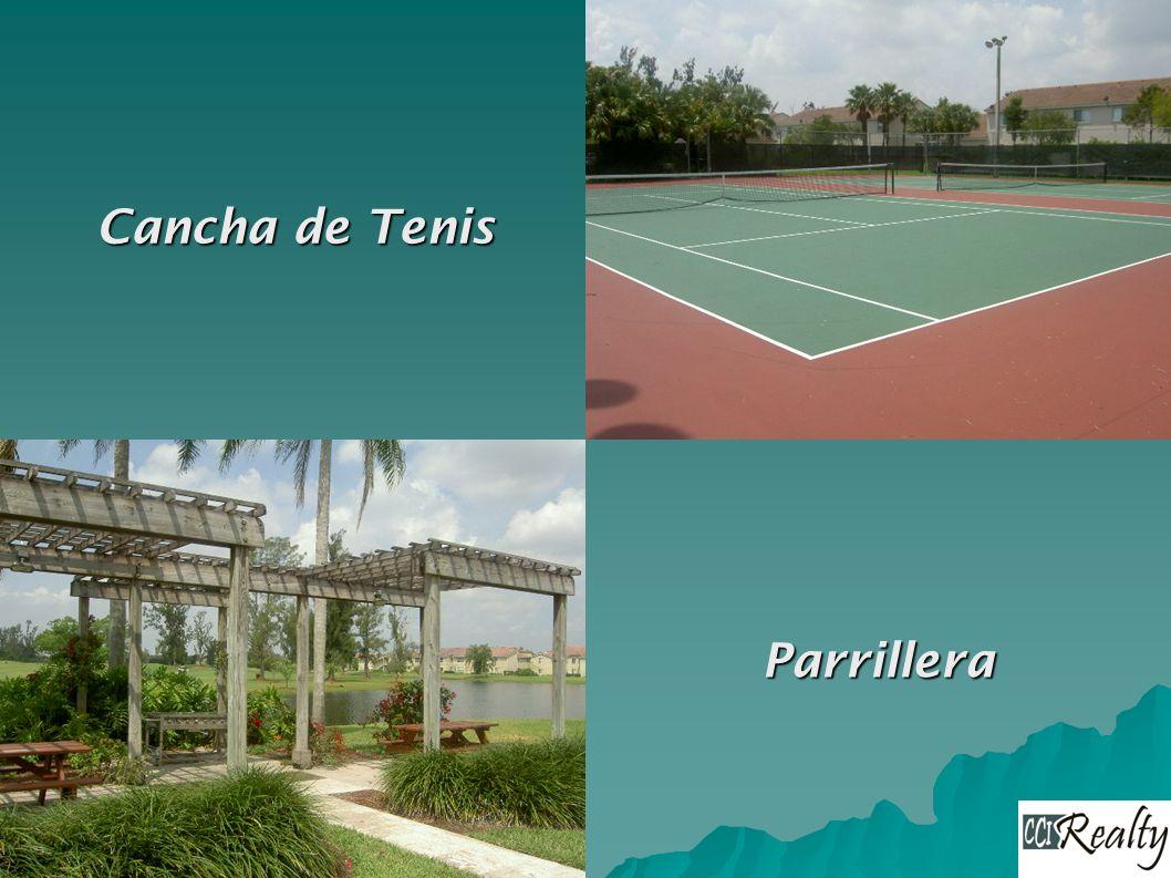 Cancha de Tenis Parrillera