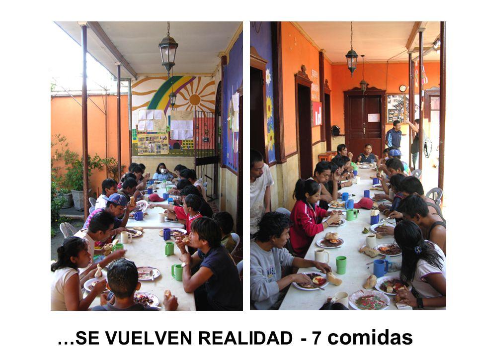 …SE VUELVEN REALIDAD - 7 comidas