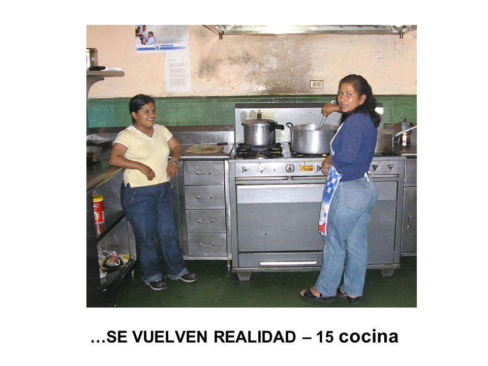 …SE VUELVEN REALIDAD – 15 cocina