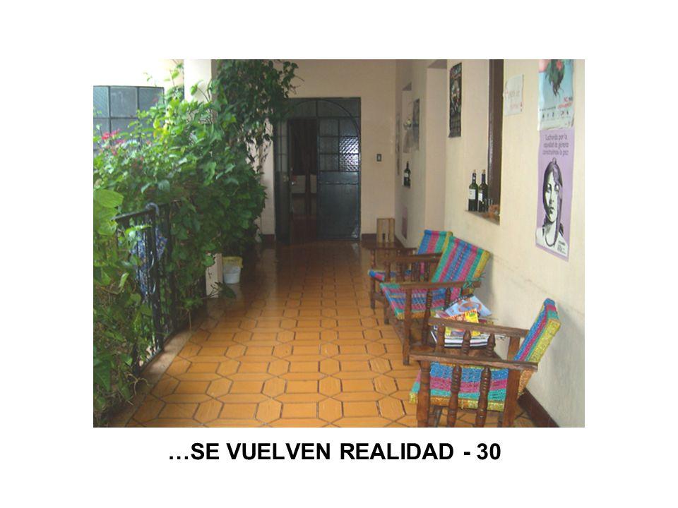 …SE VUELVEN REALIDAD - 30