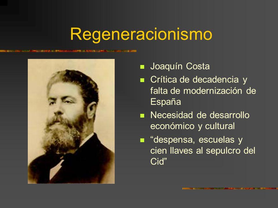 Problemas con este concepto Separación de modernismo y 98 Ideologías distintas: En la juventud: Unamuno – PSOE, marxista Maeztu – anhelos socialistas