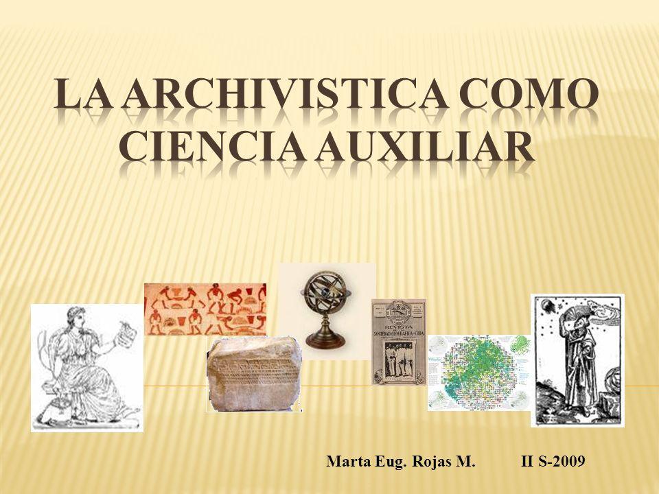 Marta Eug. Rojas M. II S-2009