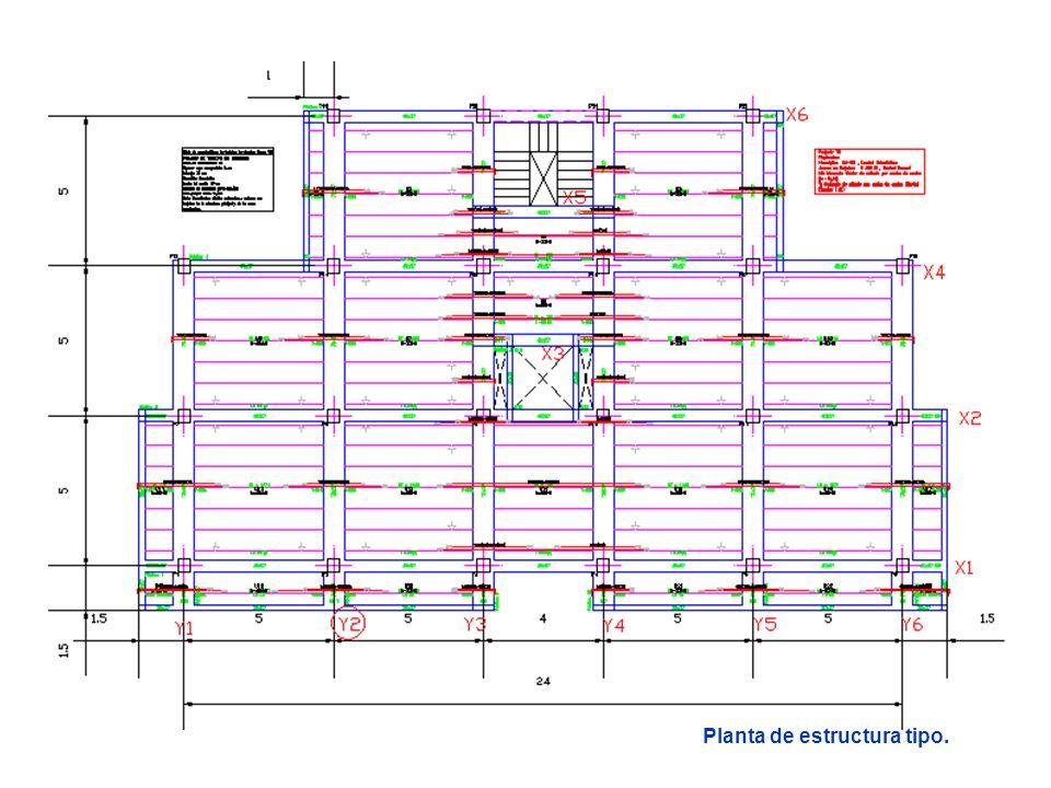 Se va a dimensionar ahora el soporte P2 de planta baja que va del F1 al F2.