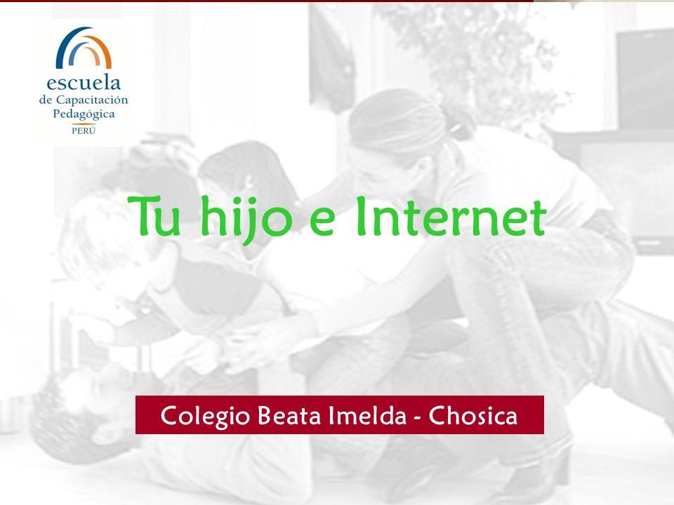 PUNTOS CLAVES PARA EDUCAR Internet: área común de la casa.