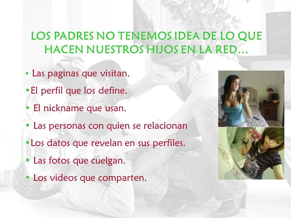 ES DERECHO Y DEBER EDUCATIVO DE LOS PADRES: Proteger a sus hijos de la información a la que tienen acceso, de acuerdo a su edad.