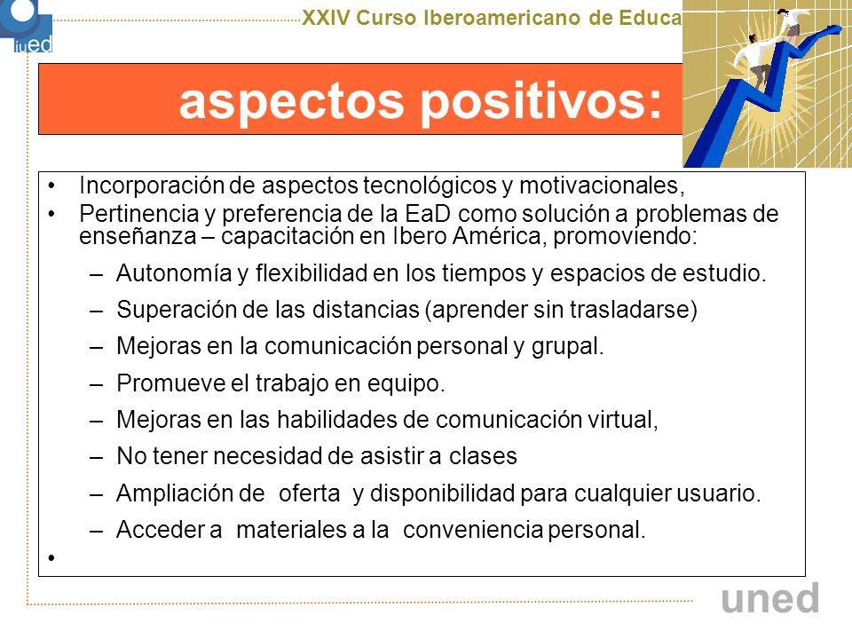 XXIV Curso Iberoamericano de Educación a Distancia X edición uned riesgos: La falta de información y la ausencia de detalles Comprender que no todos los colegas disponen del mismo tiempo ni tienen el mismo ritmo de trabajo.
