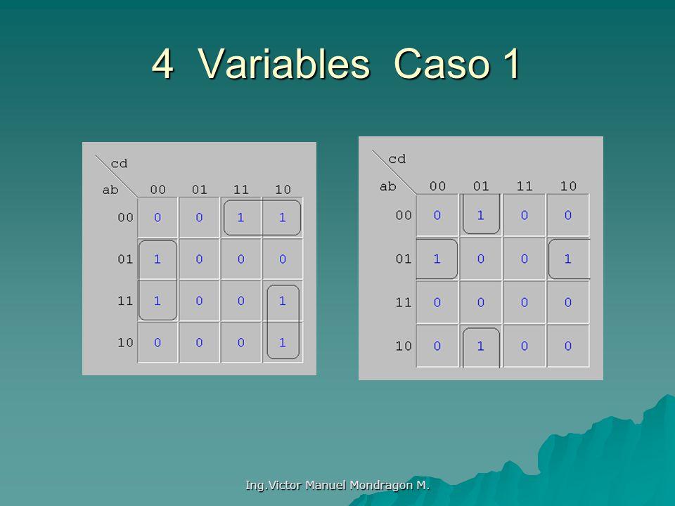 Ing.Victor Manuel Mondragon M. 4 Variables Caso 1